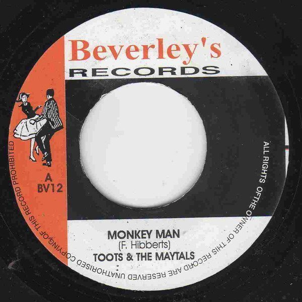 Toots And The Maytals - Monkey Man / High Voltage