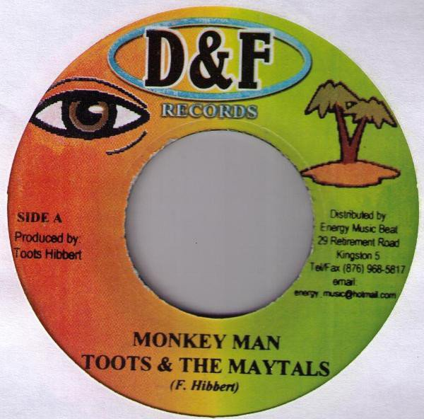 Toots And The Maytals - Monkey Man / It Was Written