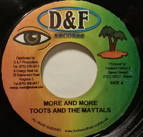 Toots And The Maytals - More And More