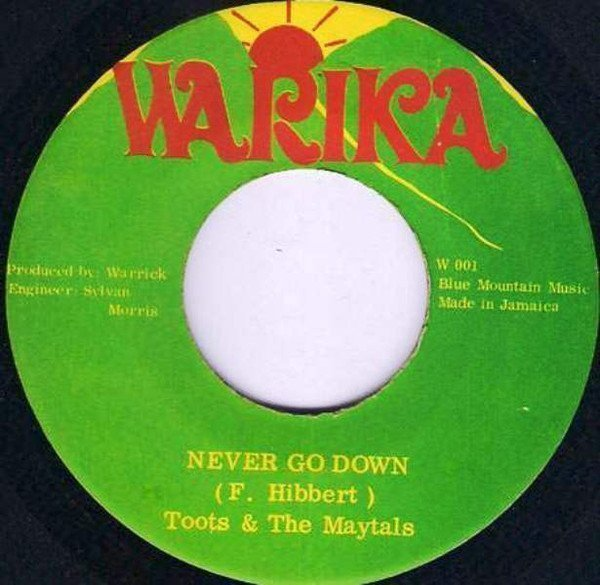 Toots And The Maytals - Never Go Down