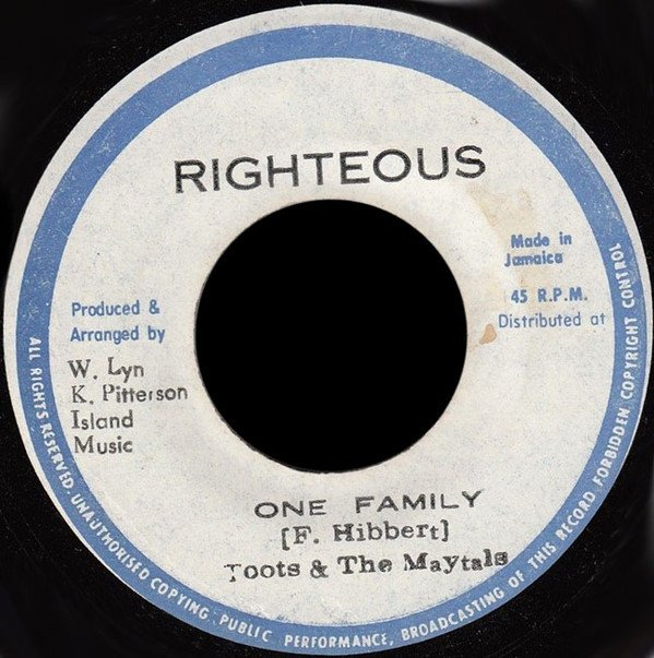 Toots And The Maytals - One Family