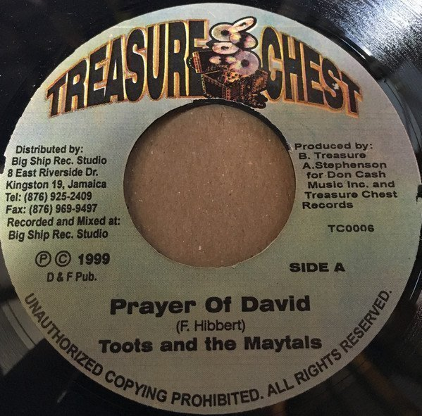 Toots And The Maytals - Prayer of David