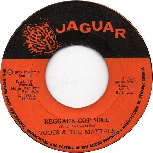 Toots And The Maytals - Reggae
