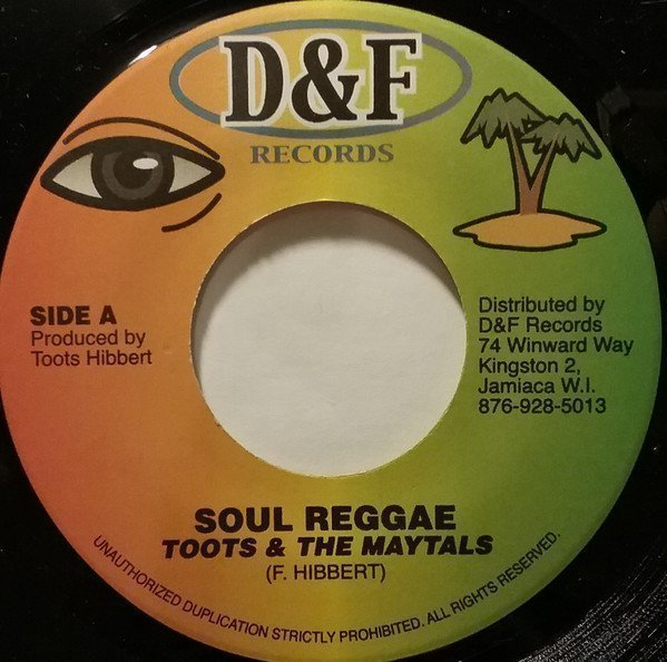Toots And The Maytals - Soul Reggae