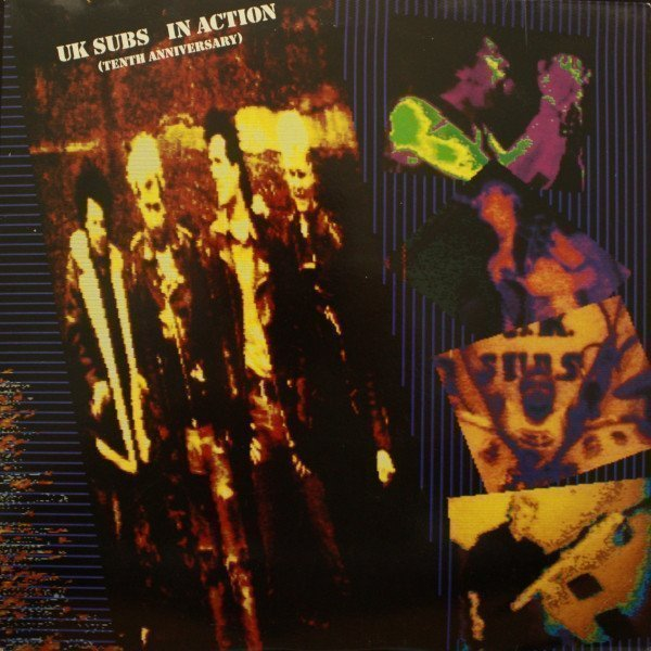 U K Subs - In Action (Tenth Anniversary)