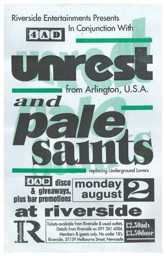 Unrest - Newcastle, August 2, 1993