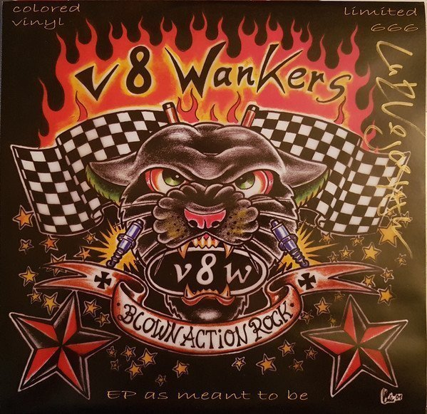 V8 Wankers - Blow Action Rock