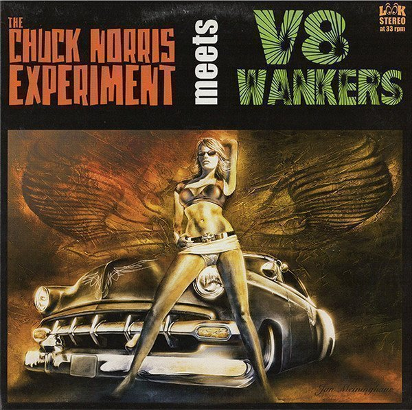 V8 Wankers - The Chuck Norris Experiment Meets V8 Wankers