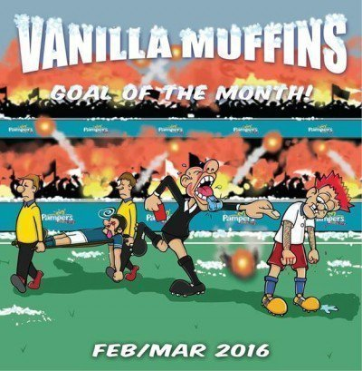 Vanilla Muffins - Goal Of The Month! (Feb / Mar 2016)