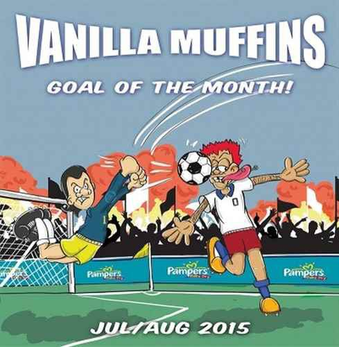 Vanilla Muffins - Goal Of The Month! (Jul / Aug 2015)