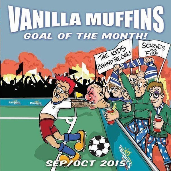 Vanilla Muffins - Goal Of The Month! (Sept / Okt 2015)