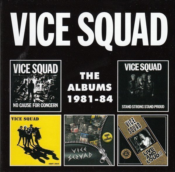 Vice Squad - The Albums 1981-1984