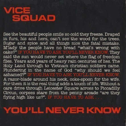 Vice Squad - You