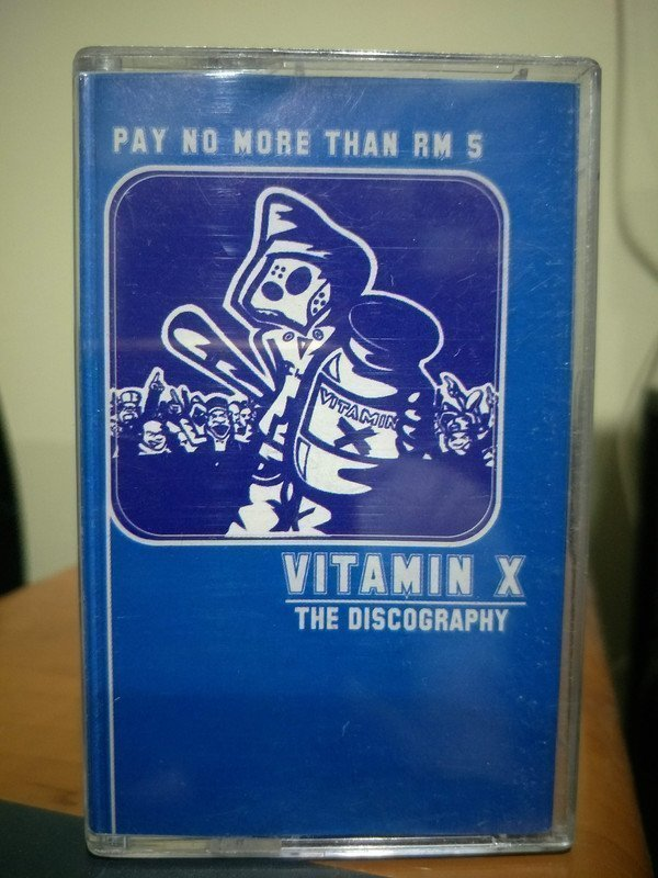 Vitamin X - The Discography