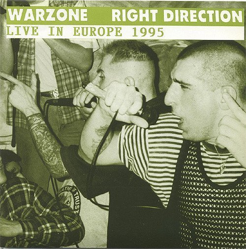 Warzone - Live In Europe 1995