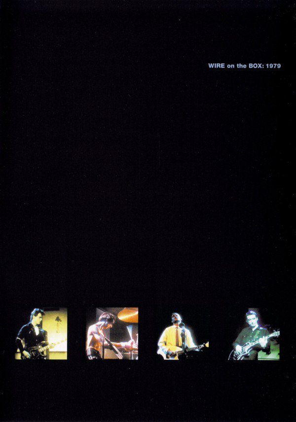 Wire - On The Box: 1979
