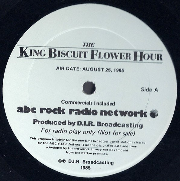 X - King Biscuit Flower Hour