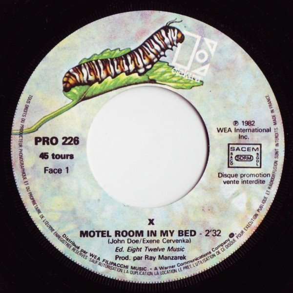 X - Motel Room In My Bed