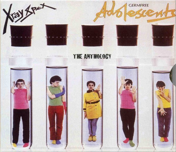 X ray Spex - The Anthology