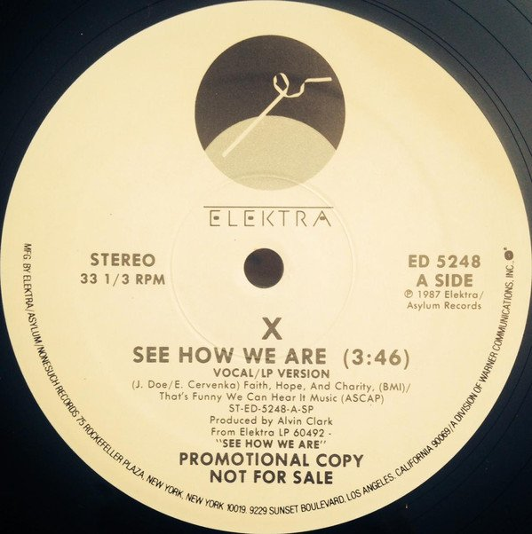 X - See How We Are