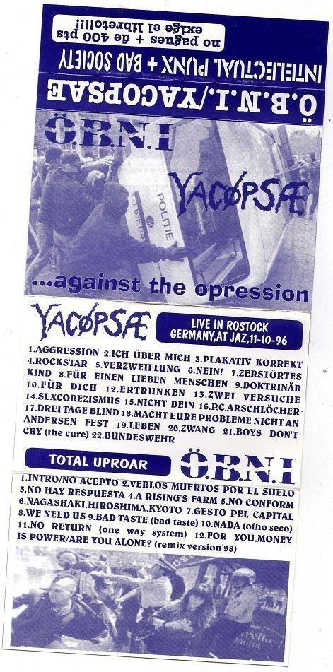 Yacopsae - ...Against The Opression