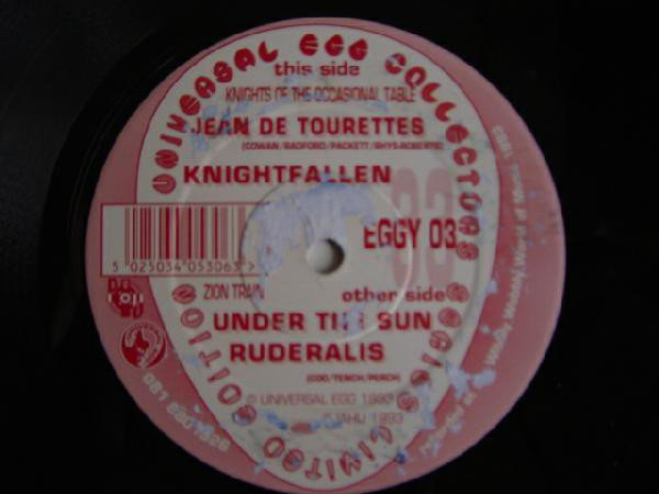 Zion Train - Meet Knights Of The Occasional Table