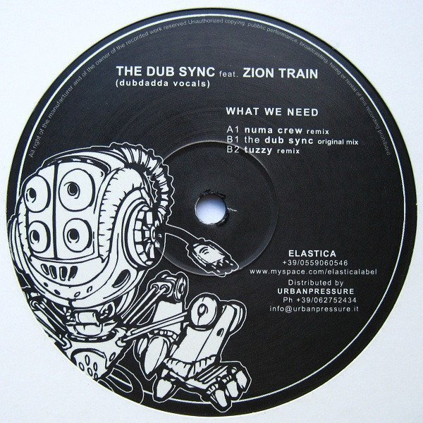 Zion Train - What We Need